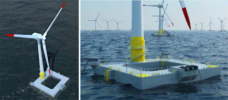 Le concept Ideol en mer (vue d'artiste)
