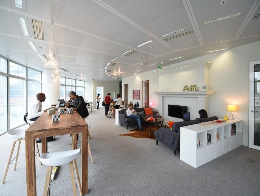 L'espace de coworking à Nextdoor Cœur-Défense