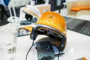 Le casque connecté permet de faciliter le travail sur les chantiers