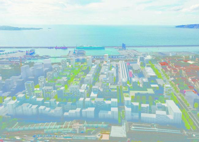 Le projet d'éco quartier Les Fabriques s'étend sur 14 hectares au Nord de Marseille