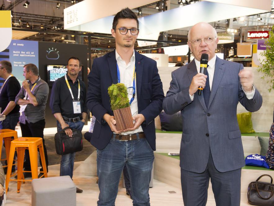 Benoit BELLAVOINE (XP Digit) et Philippe BONNAVE
