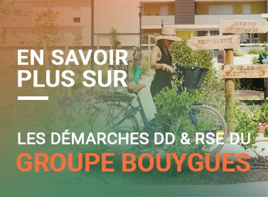Démarches DD & RSE du groupe Bouygues